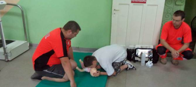 Zajęcia z lekarzem Medycyny Ratunkowej w Szpitalu Powiatowym