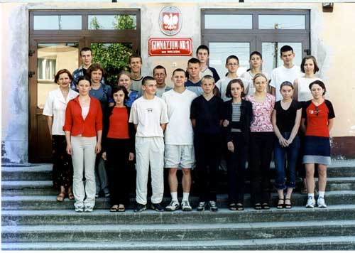 Absolwenci rocznik 2002 klasa B