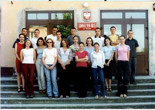 Absolwenci rocznik 2002 klasa F