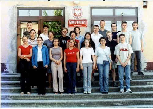 Absolwenci rocznik 2002 klasa H