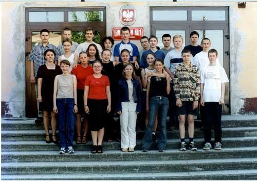Absolwenci rocznik 2002 klasa I