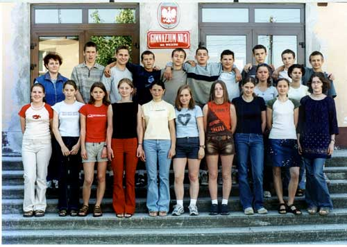 Absolwenci rocznik 2002 klasa K