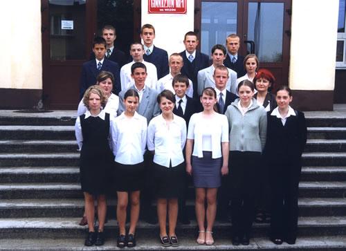Absolwenci rocznik 2003 klasa B