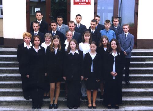 Absolwenci rocznik 2003 klasa C