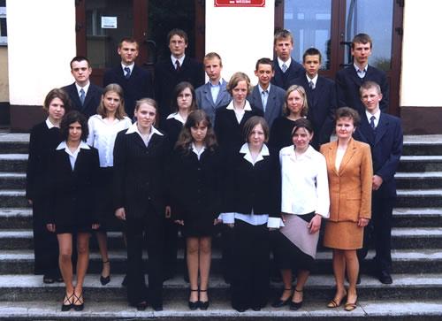 Absolwenci rocznik 2003 klasa D