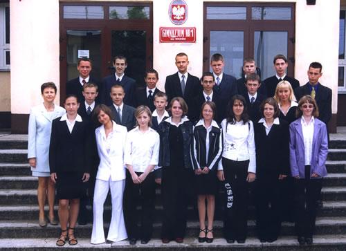 Absolwenci rocznik 2003 klasa E