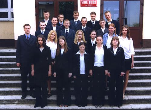 Absolwenci rocznik 2003 klasa H