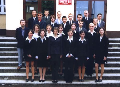 Absolwenci rocznik 2003 klasa I