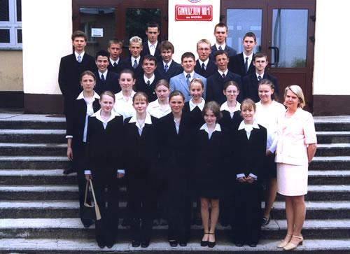 Absolwenci rocznik 2003 klasa K
