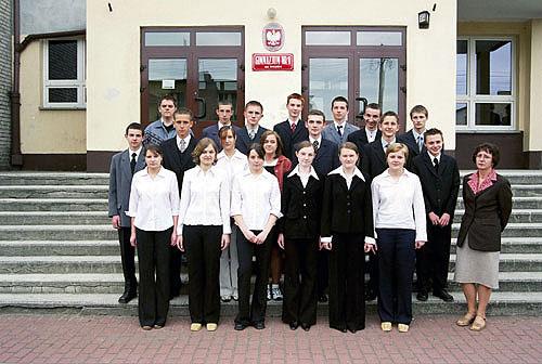 Absolwenci rocznik 2004 klasa A