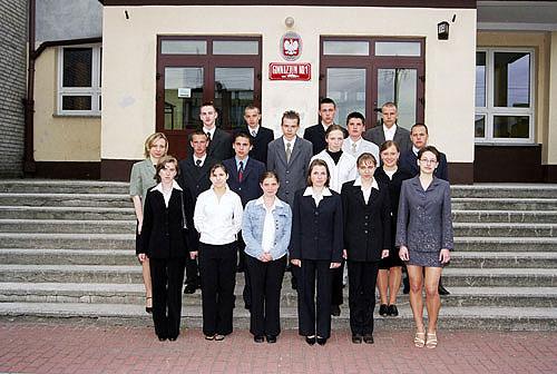 Absolwenci rocznik 2004 klasa B