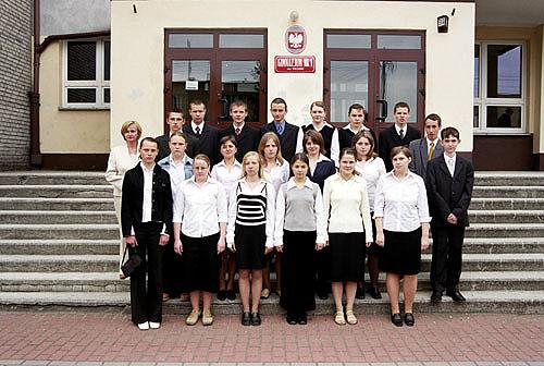 Absolwenci rocznik 2004 klasa C