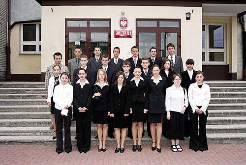 Absolwenci rocznik 2004 klasa D