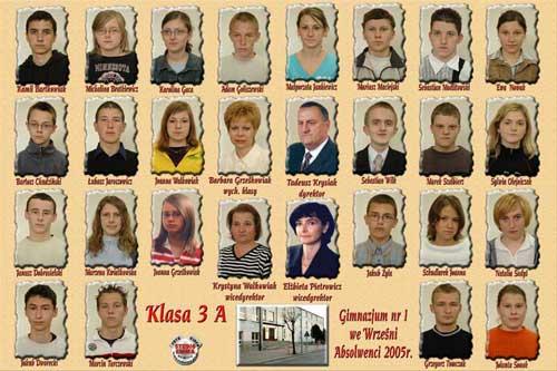 Absolwenci rocznik 2005 klasa A