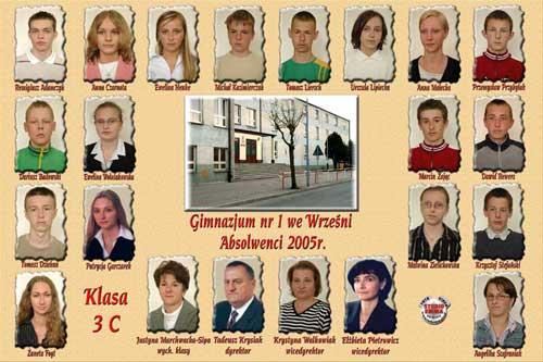 Absolwenci rocznik 2005 klasa C