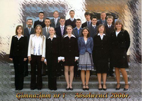 Absolwenci rocznik 2006 klasa B