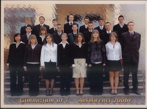 Absolwenci rocznik 2006 klasa C