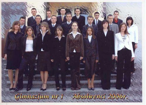 Absolwenci rocznik 2006 klasa E