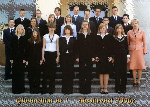 Absolwenci rocznik 2006 klasa F