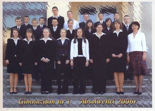 Absolwenci rocznik 2006 klasa G