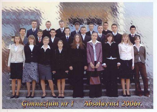 Absolwenci rocznik 2006 klasa H