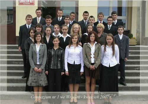 Absolwenci rocznik 2007 klasa A