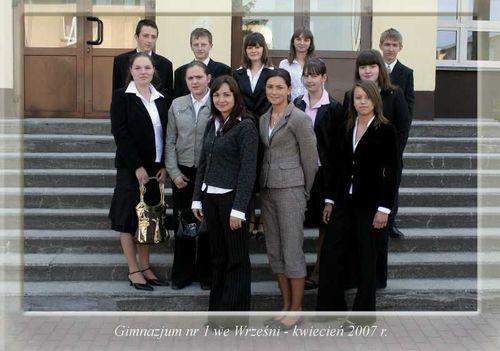 Absolwenci rocznik 2007 klasa B