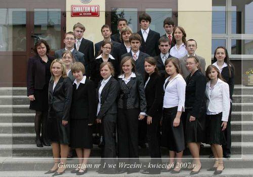 Absolwenci rocznik 2007 klasa C
