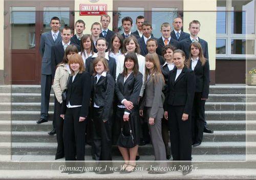 Absolwenci rocznik 2007 klasa K