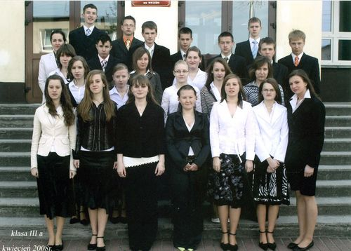 Absolwenci rocznik 2008 klasa A