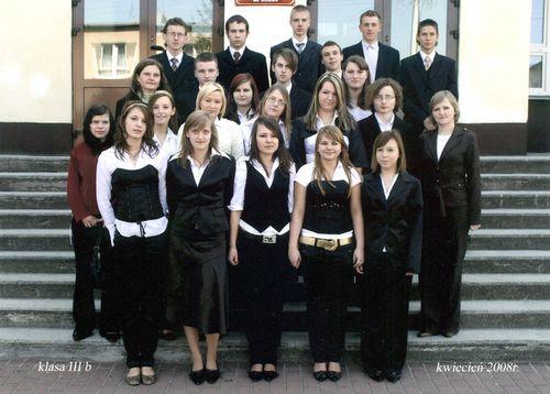 Absolwenci rocznik 2008 klasa B