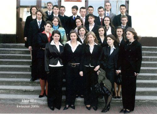 Absolwenci rocznik 2008 klasa C