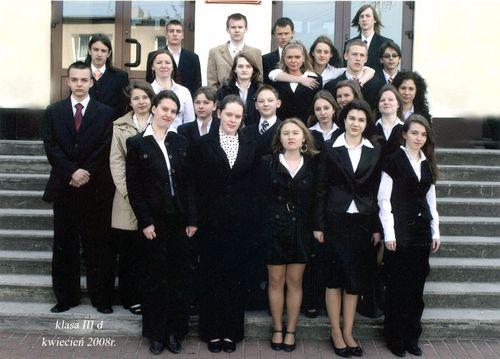 Absolwenci rocznik 2008 klasa D