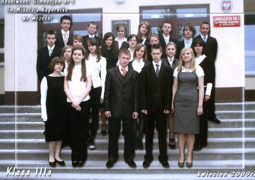 Absolwenci rocznik 2009 klasa A