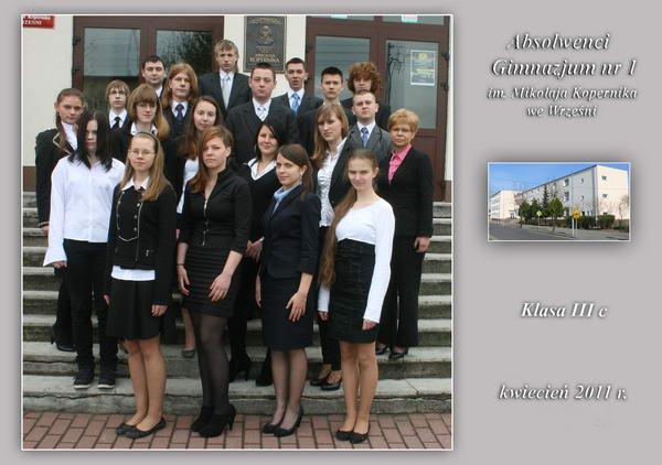 Absolwenci rocznik 2011 klasa C