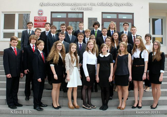 Absolwenci rocznik 2013 klasa B