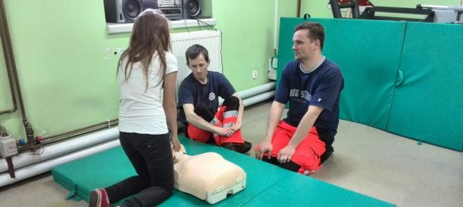 Ćwiczenia na fantomie uczniów klasy medyczno – technicznej
